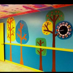 Redecorated Daycare walls....