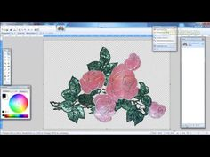 Имитация каменной инкрустации в Paint.Net-1 - YouTube