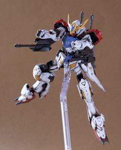 HG 1/144 Gundam Barbatos Lupus - Painted Build     Modeled by ITTA