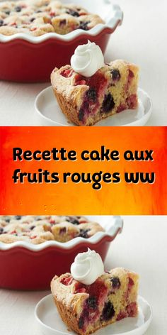 Dessert Weight Watchers, Cake Aux Fruits, Weigth Watchers, Cake Factory, Ww Desserts, Healthy Fruits, Ww Recipes, Love Food, Food And Drink