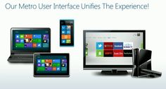 Metro UI user experience across different devices (Windows Phone 8 Tablet, Smartphone, Windows 8 Notebook, Xbox) Gaming Setup, Gaming Computer, Windows Phone 7, Windows 8, The Newest Xbox, Netflix Videos, Smartphone, Microsoft Dynamics, Facebook Video