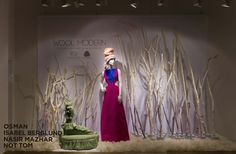 Display Ideas: Great tree branches w/ touch of color Boutique San Francisco, Window Display Retail, Retail Fixtures, Party Banners, Trade Show, Banner Design, Visual Merchandising, Best Part Of Me, Tree Branches