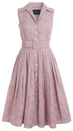 4fdc0b13 Audrey Dress #2 Shirt Collar Sleeveless Cotton Musola (Rose Bud Pastel –  Samantha Sung