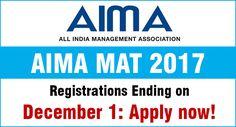 MBAUniverse: MAT 2017 Registrations ending on December 1: Apply...