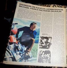 Rainahamsterin leffaruutu: Michael Parks @ finnish TV magazine KATSO 17/1970