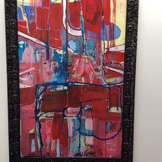 Looking Thru Acrylic on canvas, framed 1200x800 $4250I Sold Jane Gray, Canvas, Grey, Frame, Artist, Artwork, Painting, Tela, Gray