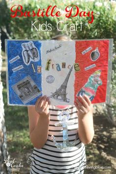 We love fun Activities for Kids and parents to do together. These Bastille Day crafts are fun and can be changed to a 4th of July kids crafts as well.