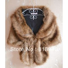 Faux Fur Shawl Bridal Wedding Wrap Gilet Stole Jacket Coat Bolero Shrug Cape New
