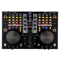 Stanton's is a complete DJ controller and digital workstation in one very functional unit. Featuring a (dual-stereo) audio interface Digital Dj, Dj Setup, Dj Equipment, 4 Channel, Gift Store, Usb, Instruments, Education, Amazon