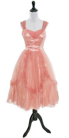 Emma Domb vintage dress 50's tulle