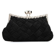 Lady Elegant Bride Knitted Evening Patry Wallet