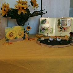 Sunflower & Seed ~Nature Table