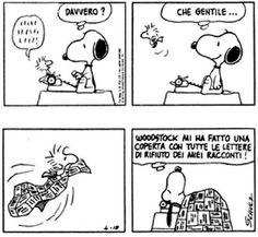 Le lezioni di Scrittura di Snoopy   »   Lettere di rifiuto  Il collezionista... #scrittura #snoopy