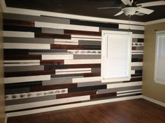 Tongue and groove paneled wall for my baby boy.  Instagram: jlwoodworx  FB: jlwoodworx and design, LLC Website: jlwoodworx.com