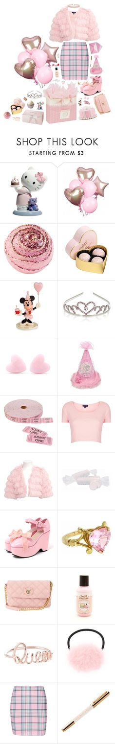 """""""birthday brat"""" by sookii ❤ liked on Polyvore featuring Nao, Essie, Gibson, Nook, Debenhams, Lenox, Monsoon, Topshop, Lipstik and Metal Couture"""