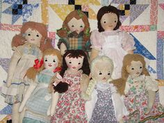 Edith Flack Ackley Dolls by grannyinak, via Flickr
