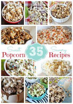 35 Sweet & Savory Popcorn Recipes
