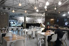 modern industrial shopping design interior