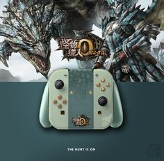 Joy Con Monster Hunter. If U like it, follow me on Twitter ! joycon, nintendo switch, dock, joy-con