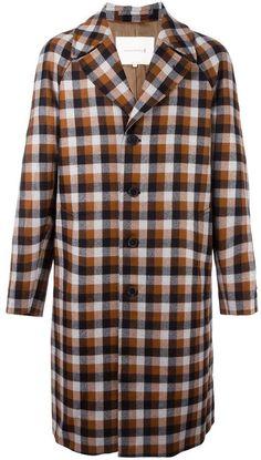 Mackintosh plaid single breasted coat Mens Brown Coat, Mens Overcoat, Sport Coat, Single Breasted, Plaid, Men's Coats, Men's Outerwear, Mens Fashion, Pea Coat