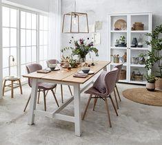 Tora Spisebord 220 x 95 x 75 cm Provence Interior, Dinning Table, Dining Room Design, Building A House, Living Room Decor, Kitchen Decor, House Design, Interior Design, Melbourne