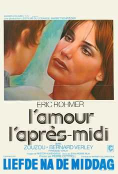 Chloe in the Afternoon (Eric Rohmer, 1972) Belgian design
