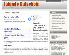 Zalando Gutschein 2013 und Zalando Gutscheincode. Sparen auf Schuhe Online? Alle Zalando Gutscheine, Angebote, Rabatte auf 1 Seite - Gutschein Zalando