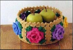 Crochê Gráfico: Fruteira