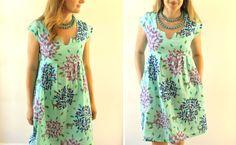Patrón Washi Vestido Costura - Made By Rae
