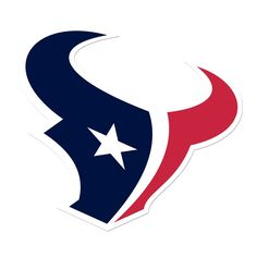 Houston Texans Decals Set of 2 Cornhole Board Decals 12 inch