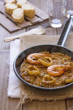 Cocinando sabores: Fideuá y sorteo