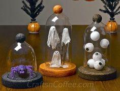 LOVE the ghosts: Halloween DIY using 2-liter-bottles | Crafts n' Coffee