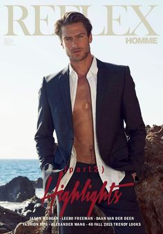 Jason Morgan by Hudson Taylor for Reflex Homme