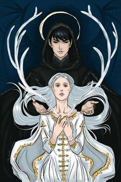 Sankta Alina and The Darkling by PhantomRin. Ruin and Rising by Leigh Bardugo. Starkov. Aleksander. The Grisha Trilogy.