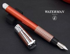 Waterman Fountain Pen, Harley Davidson edition - red