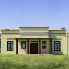 Frentes de casas estilo colonial moderno argentino for Casas estilo colonial moderno