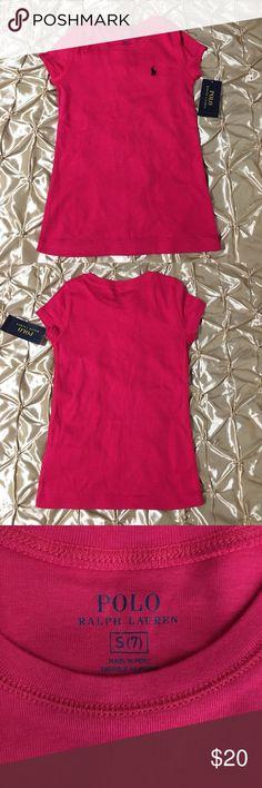 Polo Ralph Lauren Girl Dress NWT Polo Ralph Lauren Sport Pink Girl Dress Ralph Lauren Dresses Casual