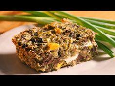 Drob de pui la tava - YouTube Sweet Potato Toast, Romanian Food, Meatloaf, Food Styling, Carne, Banana Bread, Good Food, Food And Drink, Make It Yourself