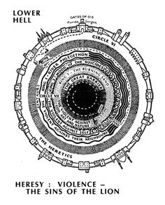Lower Hell – By C.W. Scott-Giles, for Dorothy Sayers translation of the Divine Comedy (1949)