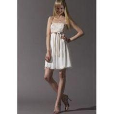 long and short chiffon bridal dresses