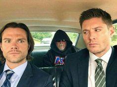 Jared, Clif e Jensen