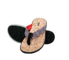 I really love the look of these casual cork sandals. I love to go to the beach, but I require some proper footwear. I'll have to look into finding some sandals like these for the summer.