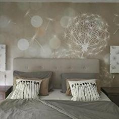 murando - Fototapete 350x245 cm - Vlies Tapete - Moderne Wanddeko - Design Tapete - Wandtapete - Wand Dekoration - Pusteblume Blumen bokeh Abstrakt f-C-0040-a-b: Amazon.de: Baumarkt