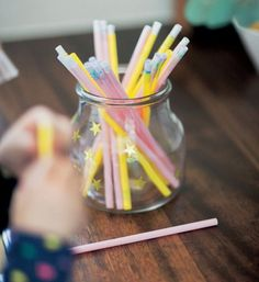 Create a reward jar: 'Each member of the family thinks of a treat – a fun thing to do. Write each treat down on a piece of paper, fold up and put in an IKEA jar. Each member of the family could have their own treat jar and when they've earned a treat, they get to pick a reward from their own jar (or you could have a family treat jar and it's pot luck whose treat gets picked).'