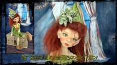 tea dyed maurice elf outfit or MSD doll kaye wiggs by JazzyRagsFran on Etsy