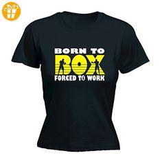 123t Slogans Damen T-Shirt, Slogan Gr. Medium, Schwarz - Schwarz - Shirts mit spruch (*Partner-Link)