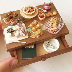 miniaturas en porcelana fria cocina - Buscar con Google