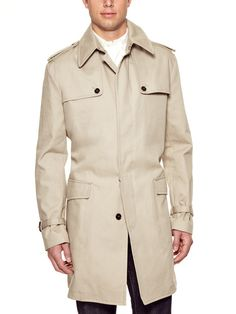 Dolce & Gabbana Coated Trench Coat