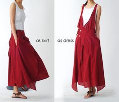 ORIGAMI CRANE  dress and skirt manys manys to by idea2lifestyle, $63.00