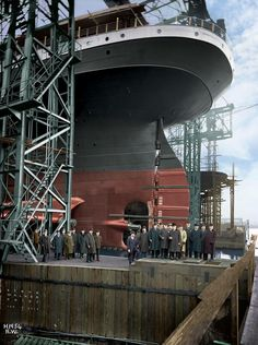 History Shall Be Kind — ocean-liners: Stern of the HMHS Britannic Rms Titanic, Titanic Photos, Titanic Ship, Titanic History, Titanic Movie, Titanic Underwater, Titanic Artifacts, Hms Hood, Ship Paintings